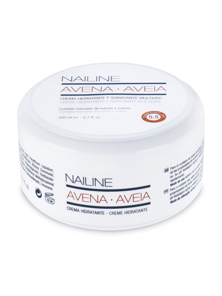 Nailine Crema Hidratante Multiuso con Avena 200ml