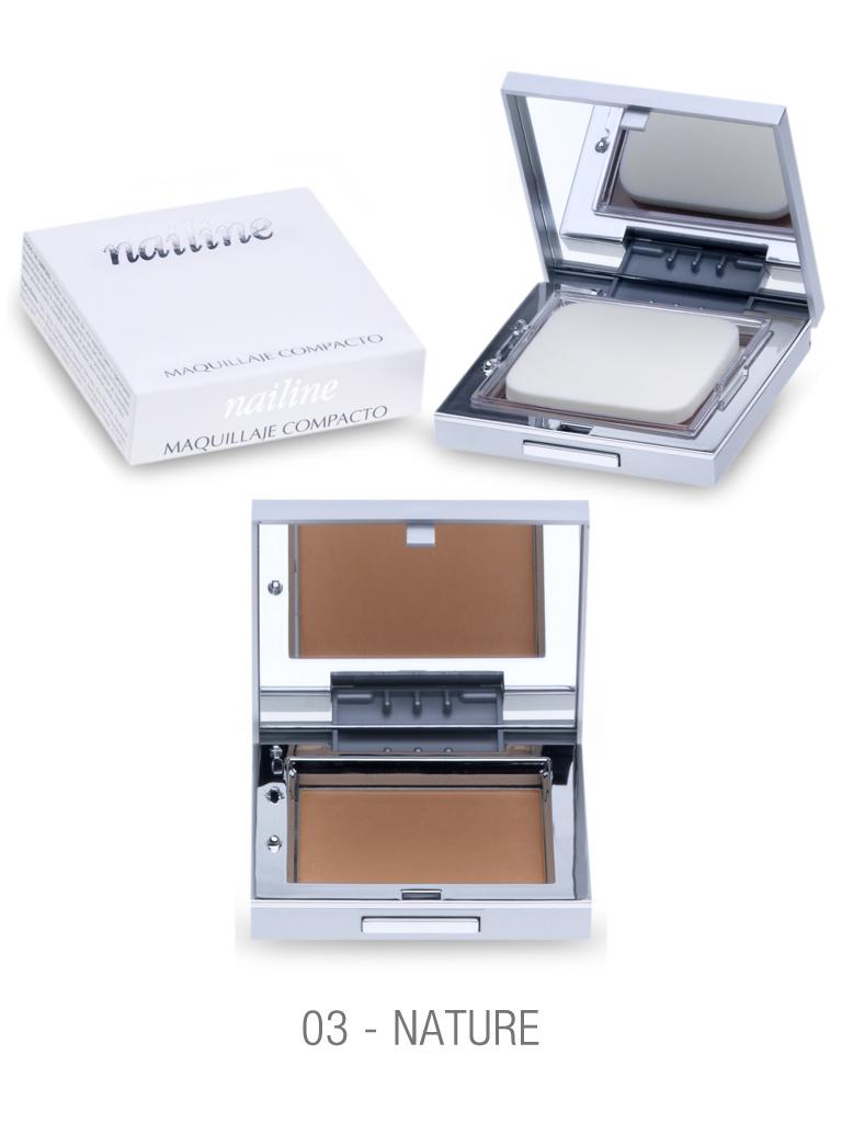 Nailine Maquillaje Compacto en Crema #3