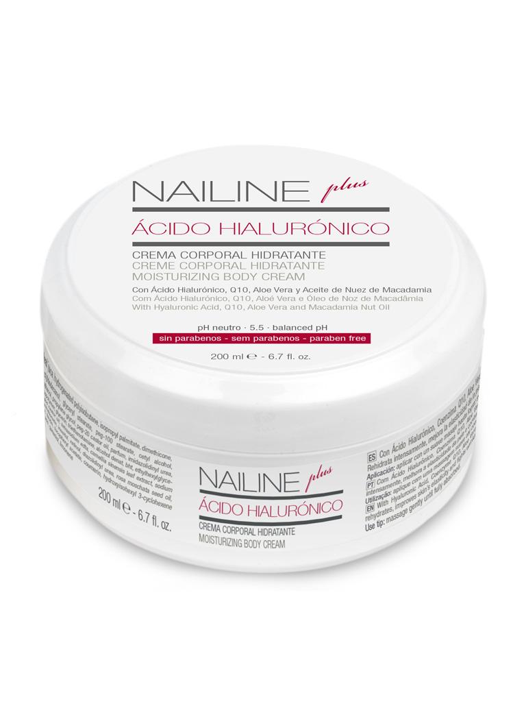 Nailine Plus Crema Corporal con Ácido Hialurónico