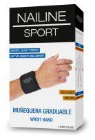 Nailine Sport Muñequera Graduable
