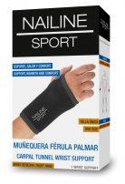 Nailine Sport Muñequera Férula Palmar (izquierda)