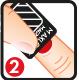 Maxlook Esmaltes de Uñas Magnetics Step 1