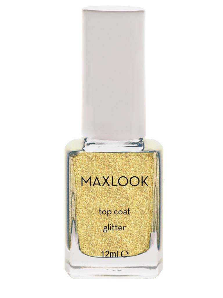 Maxlook Top Coat Glitter