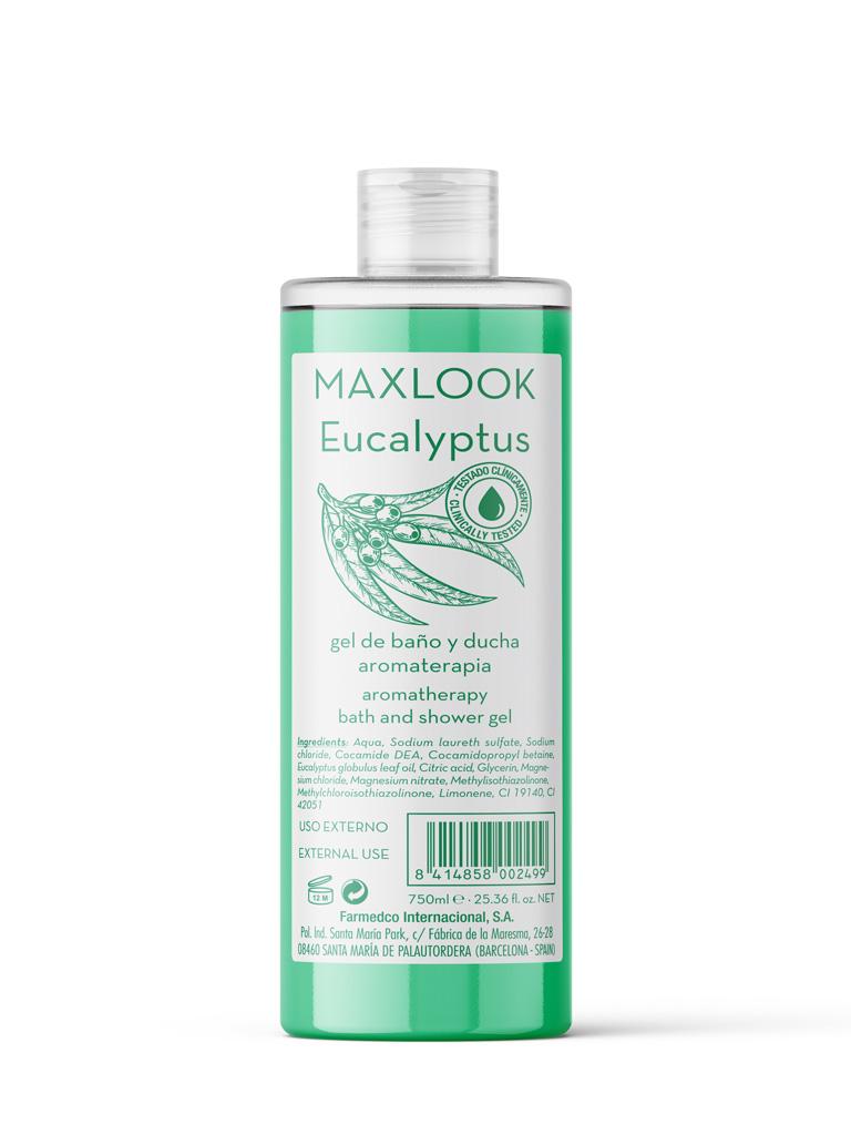Maxlook Gel de Ducha Eucalyptus 750ml