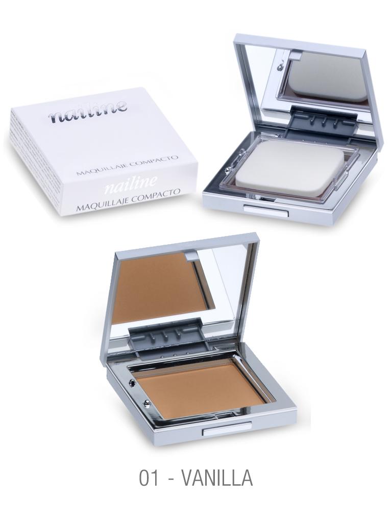Nailine Maquillaje Compacto en Crema #1