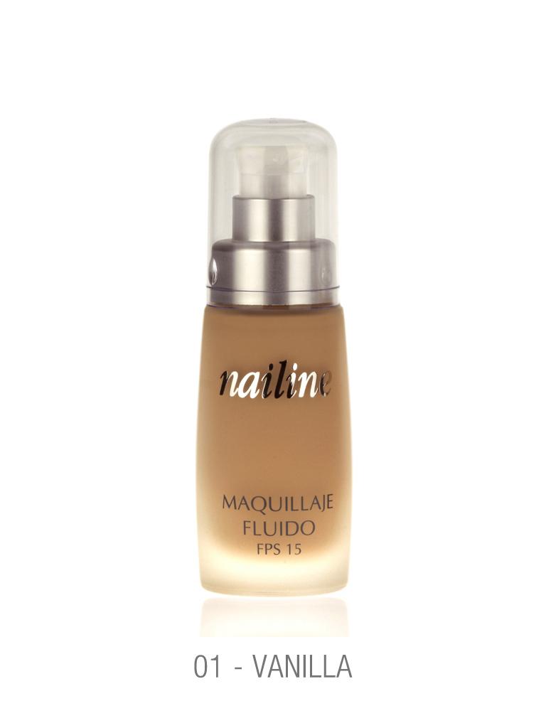 Nailine Maquillaje Fluído Larga Duración #1